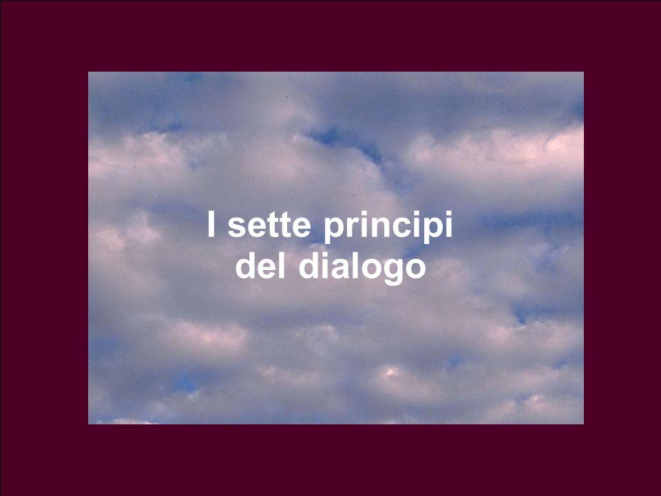14 lezione 3 Maggio 200446 I sette principi del dialogo