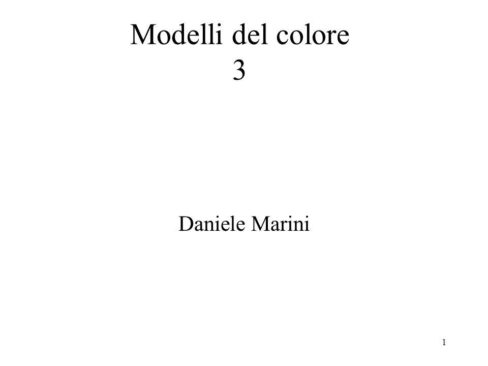1 Daniele Marini Modelli del colore 3