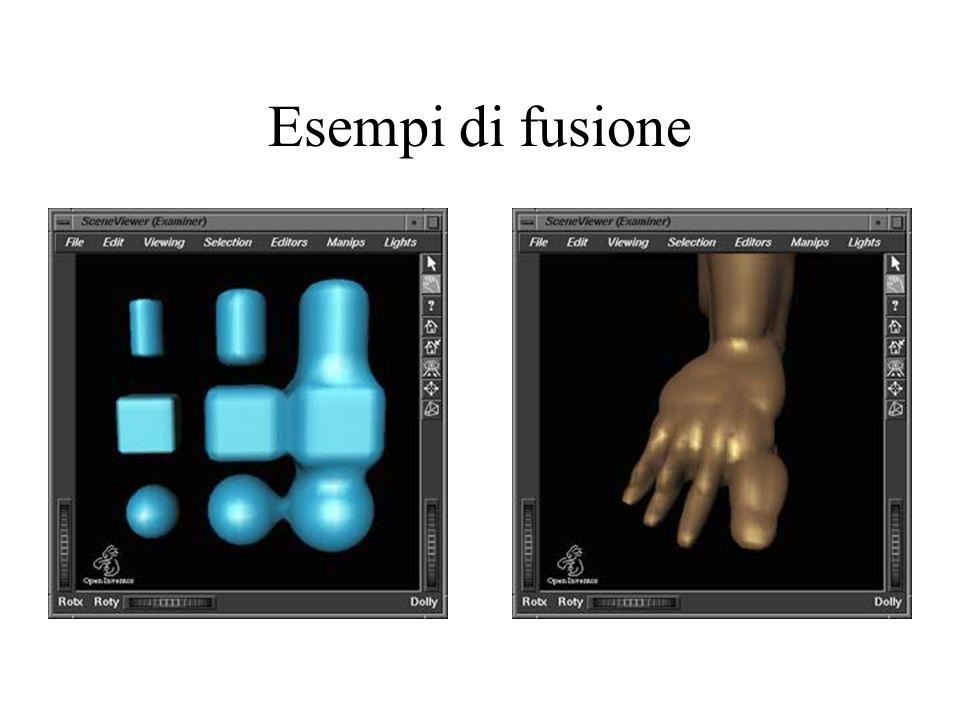 Esempi di fusione