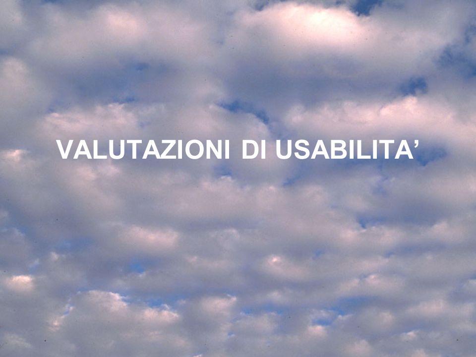 10 Lezione 5 Aprile 200432 Test di usabilità: quando.