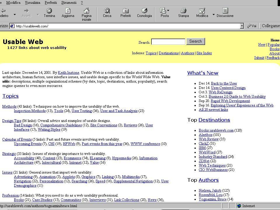 10 Lezione 5 Aprile 200424 Raccomandazioni: esempio