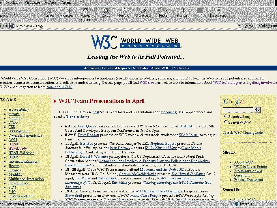 24. Lezione 30/5/03 Creazione pagine web