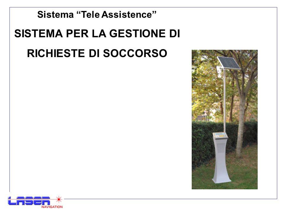Sistema Tele Assistence SISTEMA PER LA GESTIONE DI RICHIESTE DI SOCCORSO