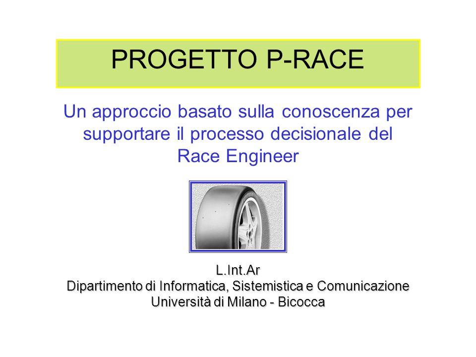 PROGETTO P-RACE Un approccio basato sulla conoscenza per supportare il processo decisionale del Race Engineer L.Int.Ar Dipartimento di Informatica, Si