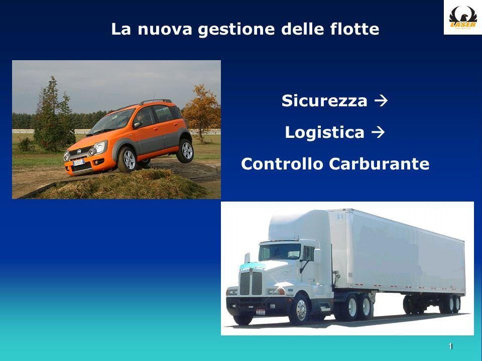 1 La nuova gestione delle flotte Sicurezza Logistica Controllo Carburante