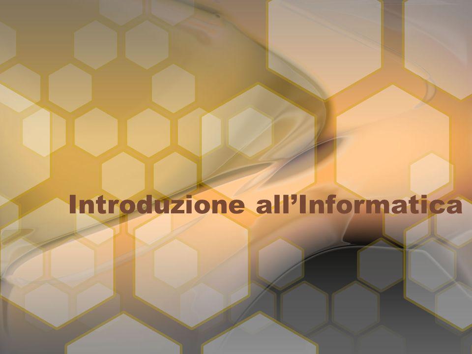 Introduzione allInformatica