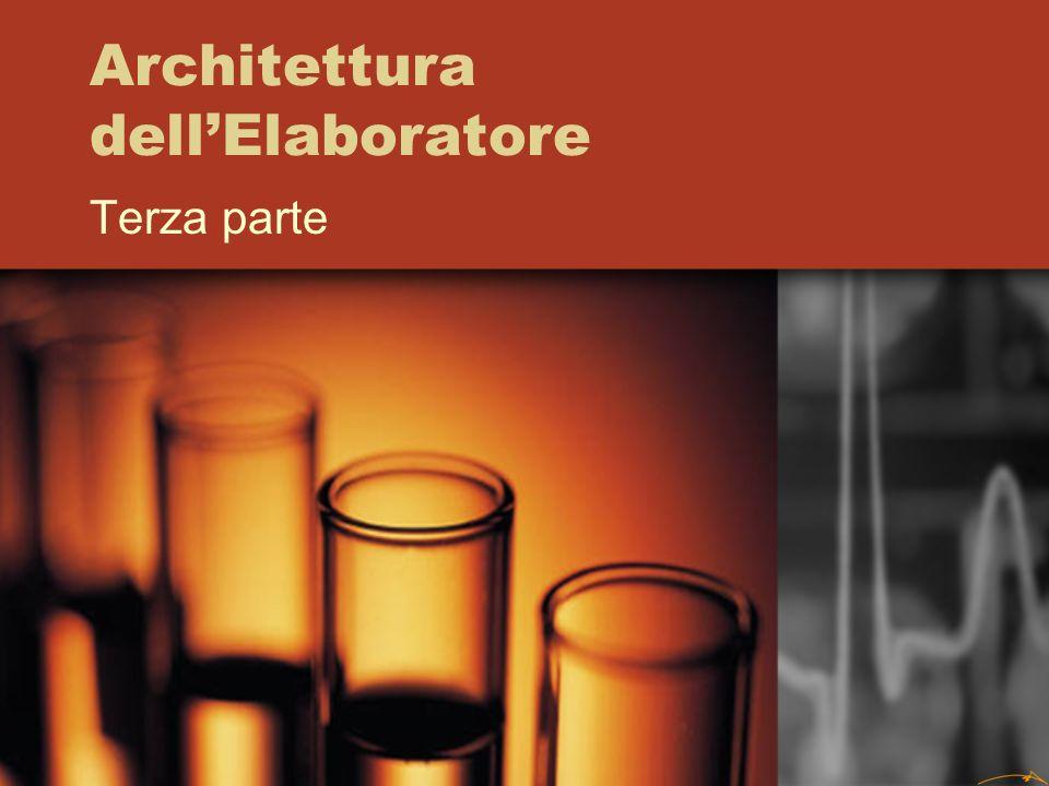 Architettura dellElaboratore Terza parte