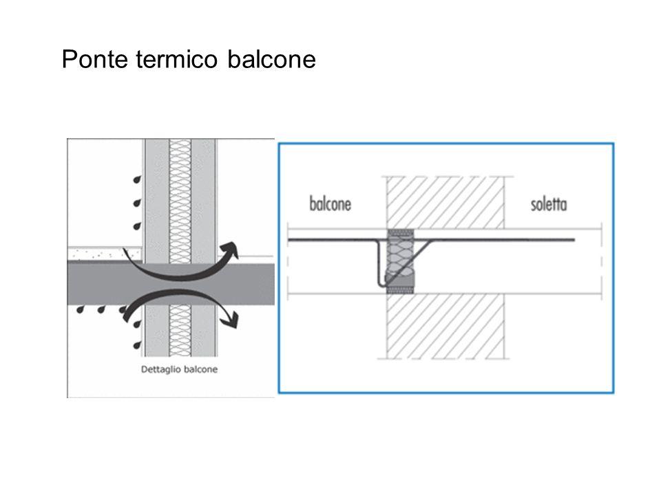 Ponte termico balcone