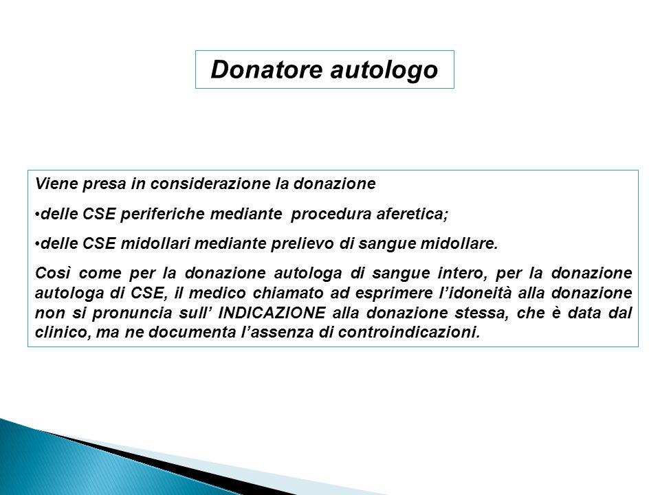 DM 03-03-05 Protocolli per laccertamento della idoneità del donatore di sangue e di emocomponenti in rapporto alla sicurezza del donatore e del ricevente.