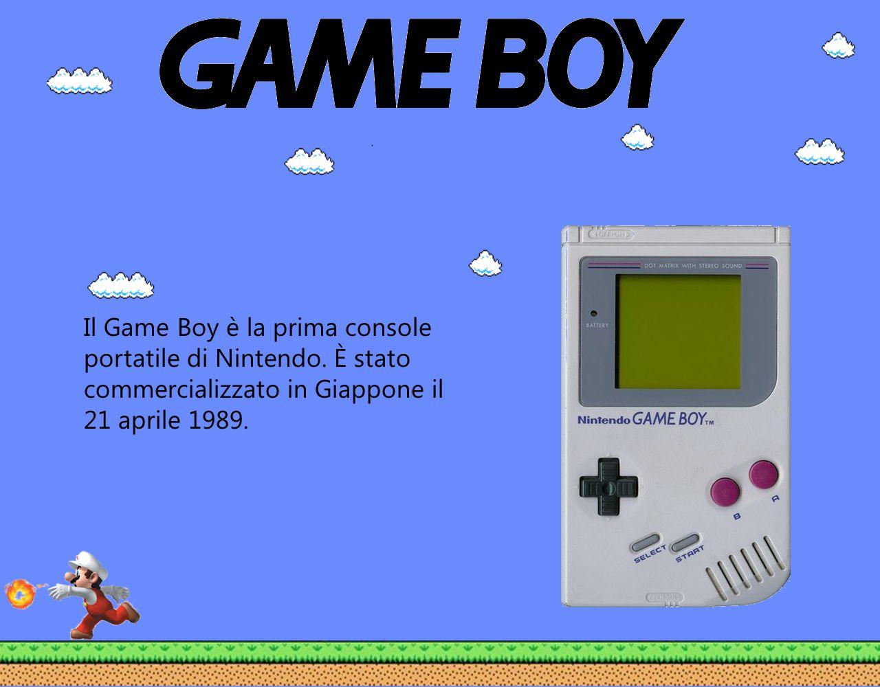 Il Game Boy è la prima console portatile di Nintendo. È stato commercializzato in Giappone il 21 aprile 1989.