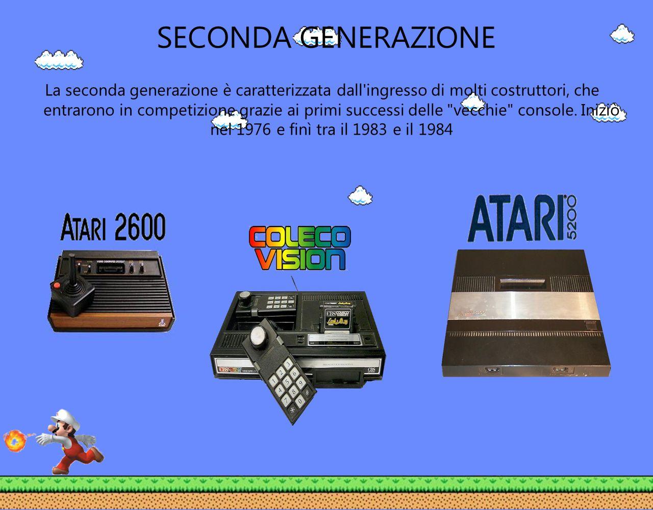 SECONDA GENERAZIONE La seconda generazione è caratterizzata dall'ingresso di molti costruttori, che entrarono in competizione grazie ai primi successi
