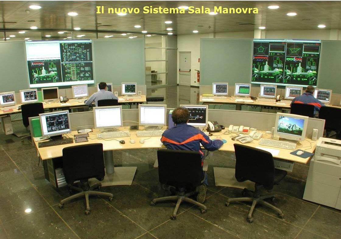 Uso: Aziendale 11 Il nuovo Sistema Sala Manovra