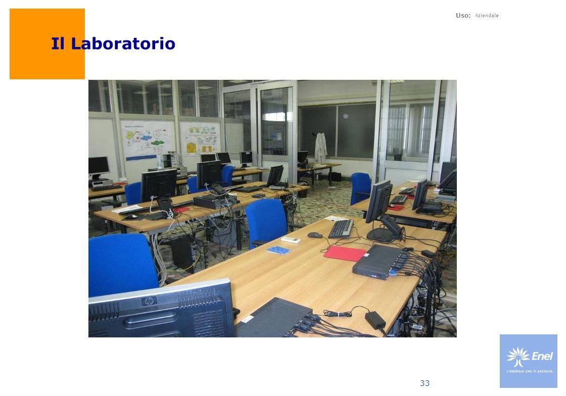 Uso: Aziendale 33 Il Laboratorio