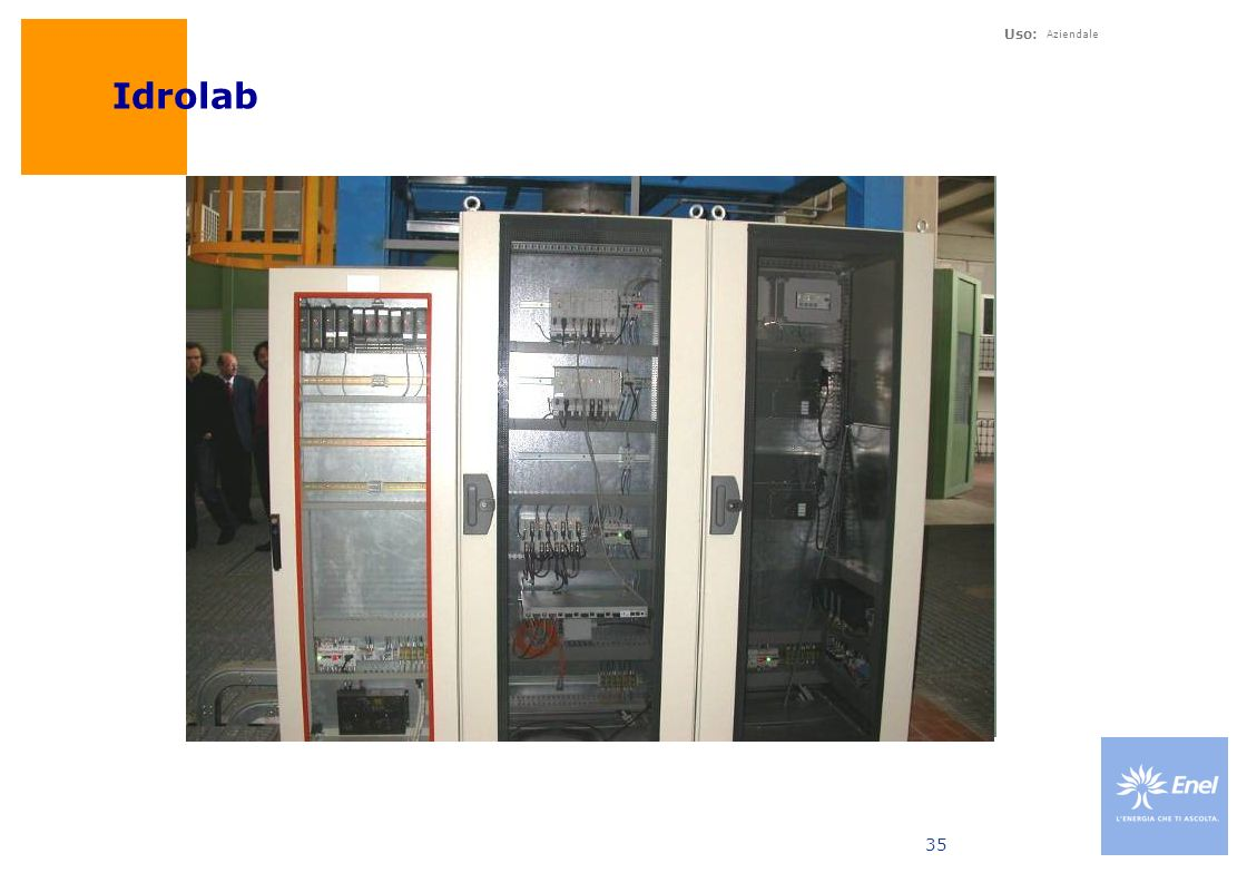 Uso: Aziendale 35 Idrolab