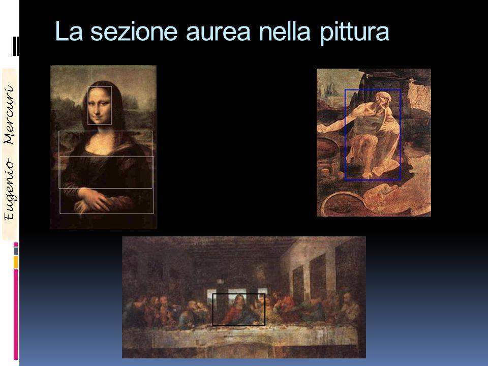 La sezione aurea nella pittura Eugenio Mercuri