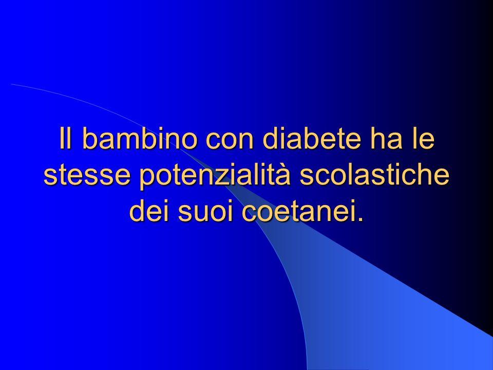 DIABETE Team diabetologico AAGD Società (scuola, lavoro ecc) Famiglia