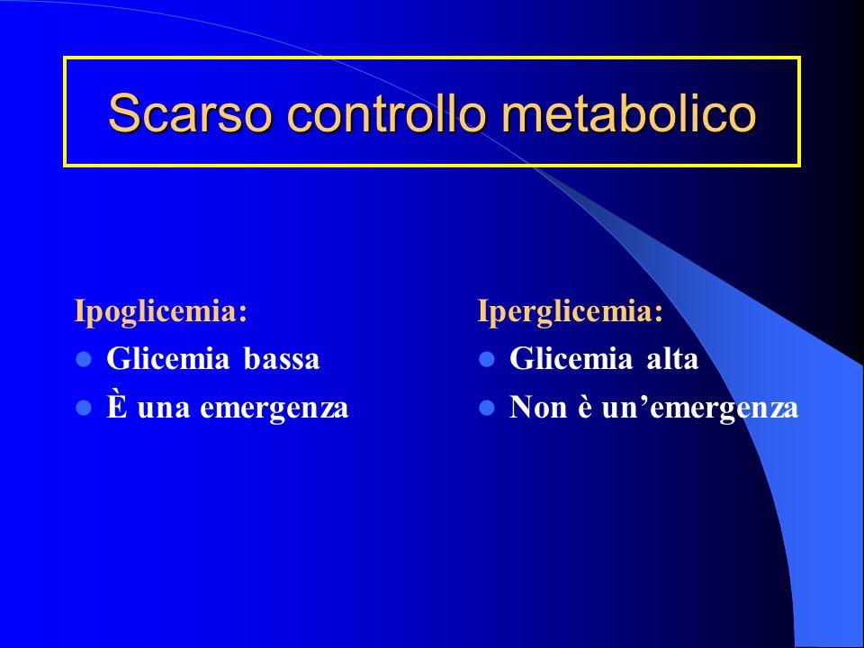 Come si cura il diabete Le insuline: Tipi Modi di somministrazione (come e quando) Autocontrollo (monitoraggio glicemia e glicosuria) Autogestione (ad