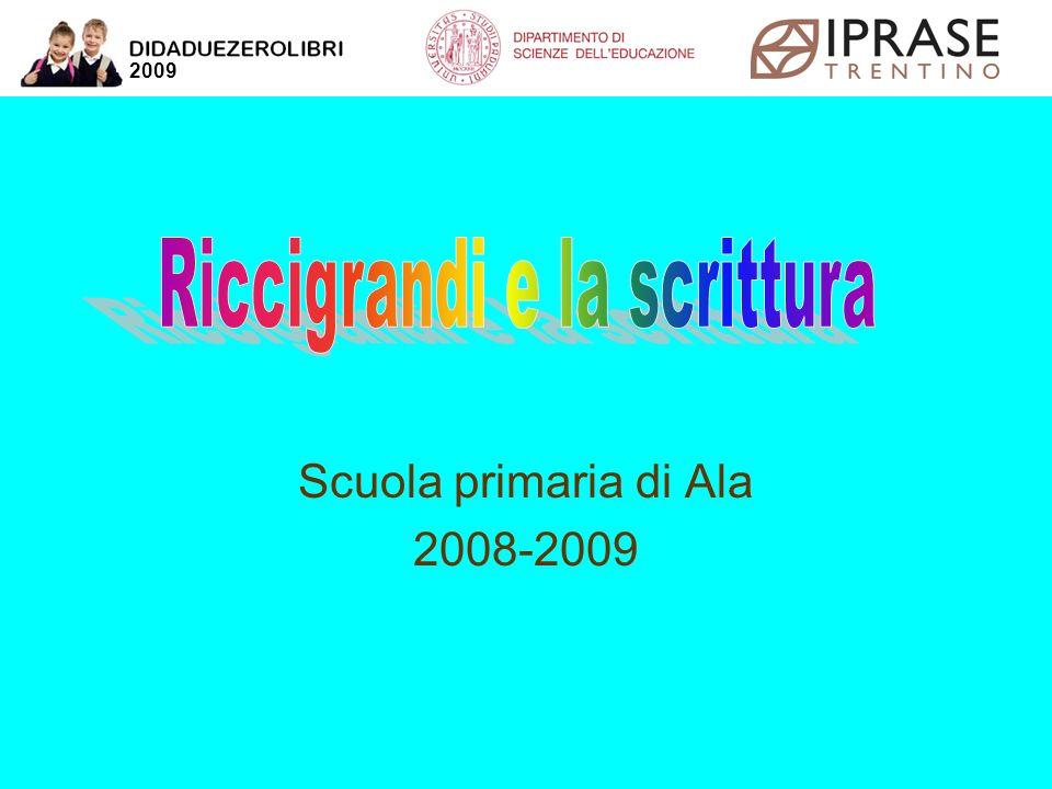 Scuola primaria di Ala 2008-2009 2009