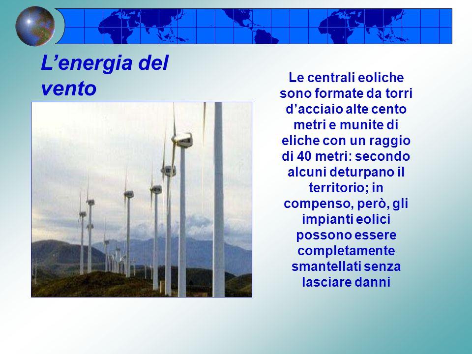 Lenergia solare I pannelli solari vengono riscaldati dai raggi del sole e permettono di ottenere acqua calda e riscaldamento