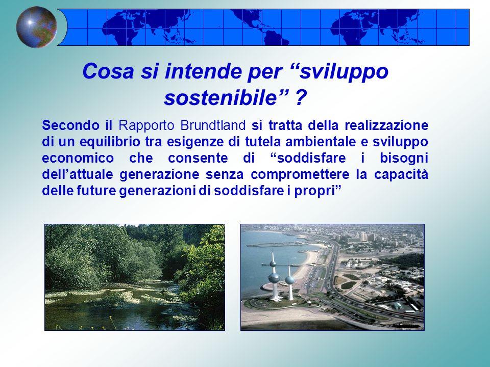 In occasione della Conferenza delle Nazioni Unite per lAmbiente e lo Sviluppo, viene presentato il Rapporto Brundtland, così chiamato dal nome della p