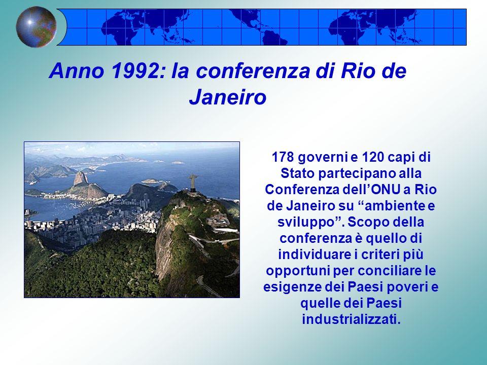 Secondo il Rapporto Brundtland si tratta della realizzazione di un equilibrio tra esigenze di tutela ambientale e sviluppo economico che consente di s