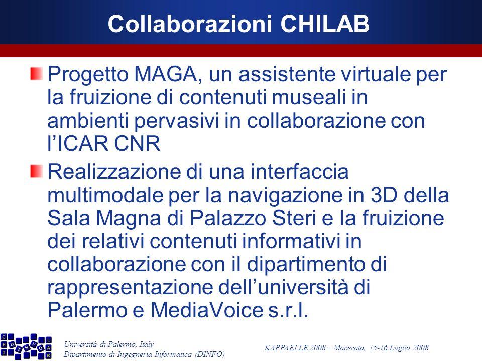 Università di Palermo, Italy Dipartimento di Ingegneria Informatica (DINFO) KAPPAELLE 2008 – Macerata, 15-16 Luglio 2008 Esempio GAIML
