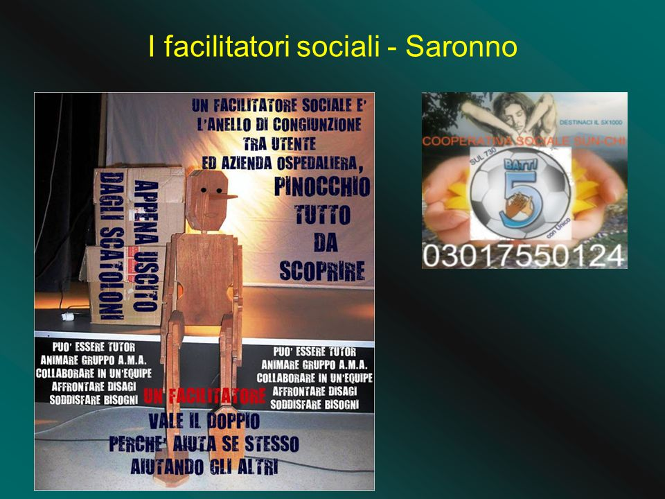 I facilitatori sociali - Saronno