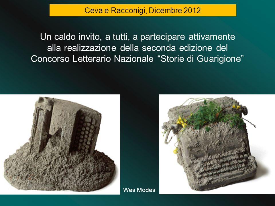 Wes Modes Ceva e Racconigi, Dicembre 2012 Un caldo invito, a tutti, a partecipare attivamente alla realizzazione della seconda edizione del Concorso L
