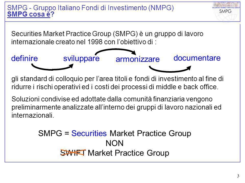 4 SMPG - Gruppo Italiano Fondi di Investimento (NMPG) SMPG cosa è.
