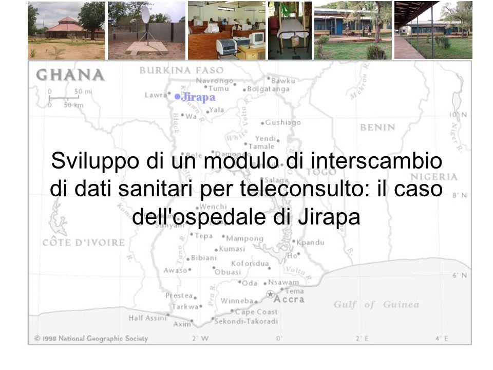 Sviluppo di un modulo di interscambio di dati sanitari per teleconsulto: il caso dell ospedale di Jirapa