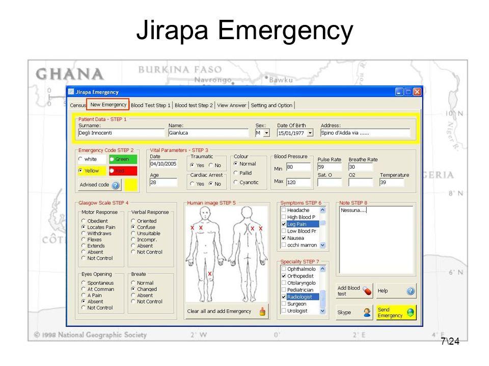 18\24 Jirapa Replyer – Funzionalità Mostrare il contenuto delle richieste