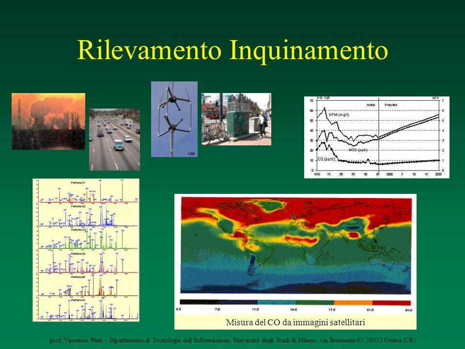 prof. Vincenzo Piuri – Dipartimento di Tecnologie dellInformazione, Università degli Studi di Milano, via Bramante 65, 26013 Crema (CR) Rilevamento In