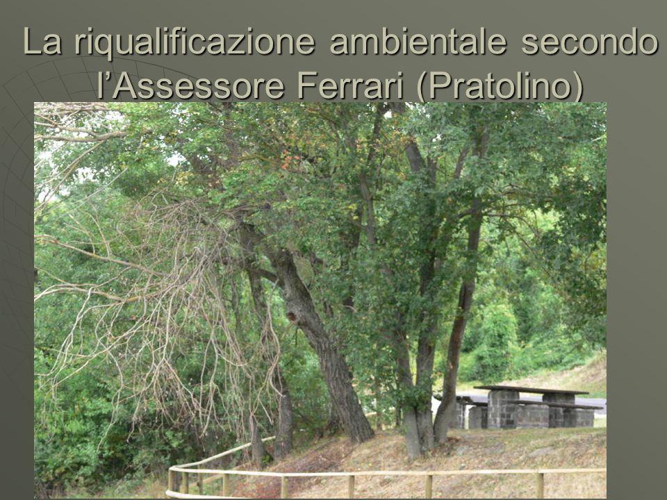 La riqualificazione ambientale secondo lAssessore Ferrari (Pratolino)