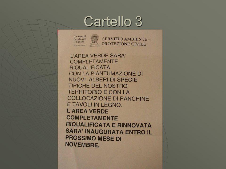 Cartello 3