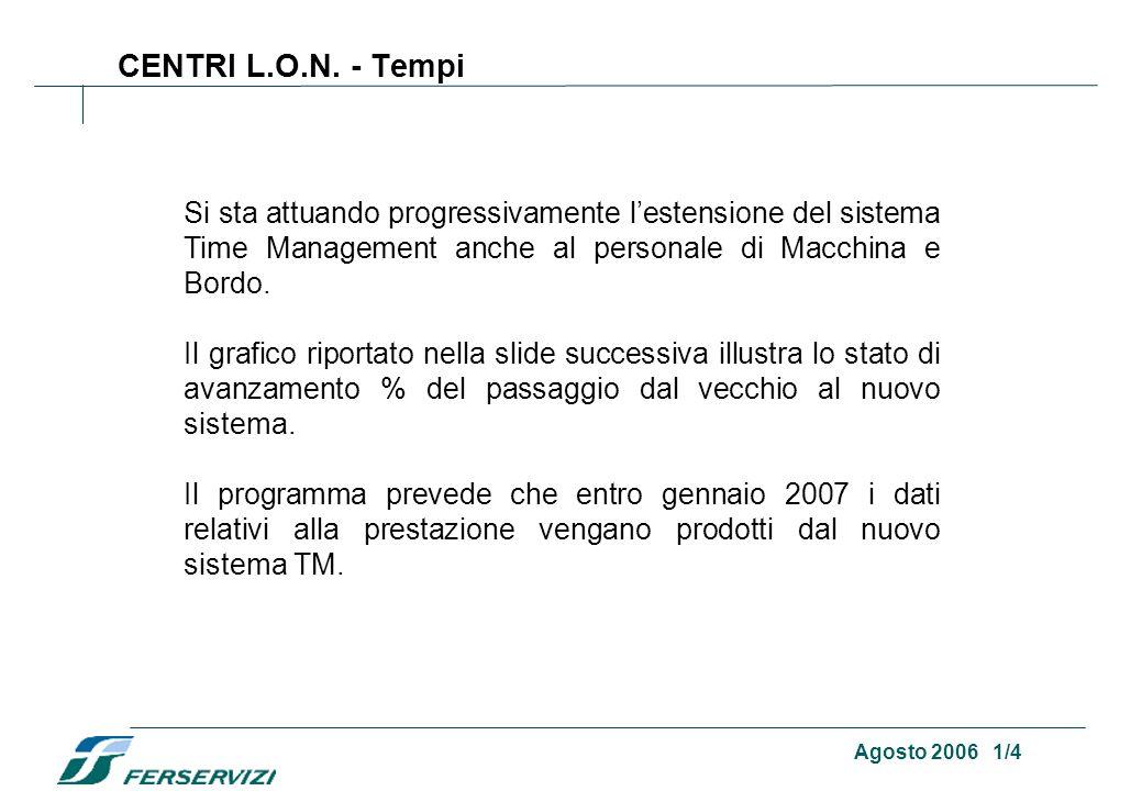 Agosto 2006 1/4 CENTRI L.O.N.