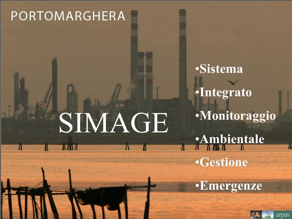 SIMAGE Sistema Integrato Monitoraggio Ambientale Gestione Emergenze