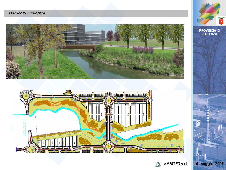 PROVINCIA DI PIACENZA Corridoio Ecologico 14 maggio 2007 AMBITER s.r.l.
