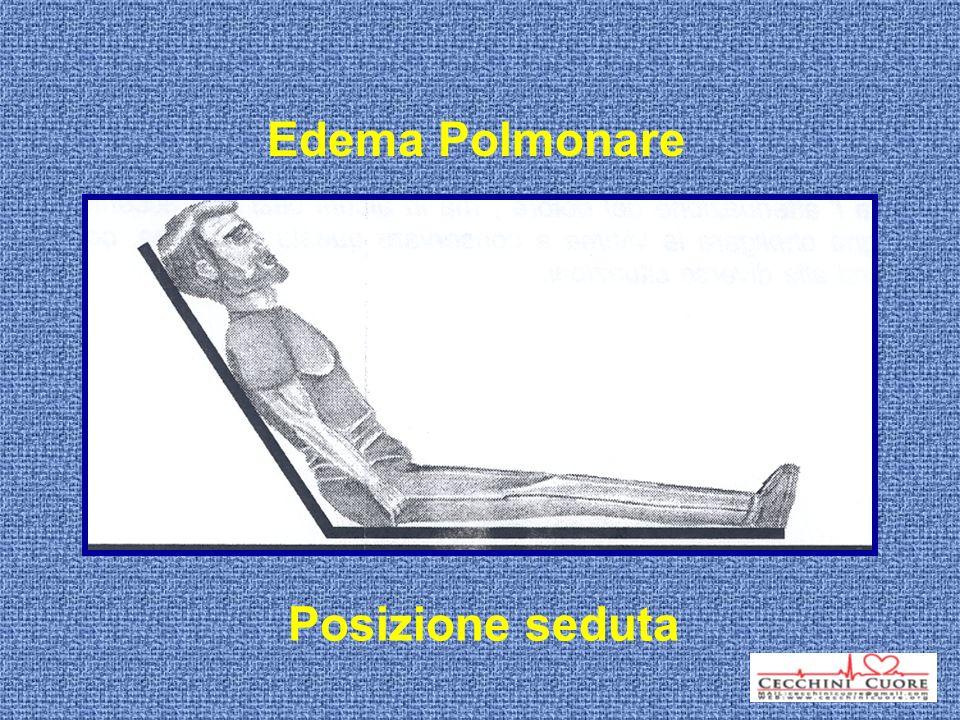 Edema Polmonare Posizione seduta