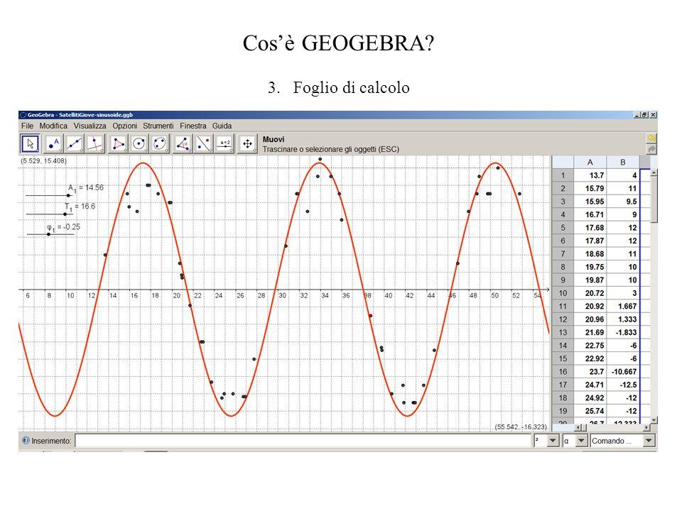 1.Ottica geometrica; 2.Ottica ondulatoria; 3.Cinematica: Composizione di moti:figure di Lissajous; 1.Meccanica: Pendolo Analisi/Simulazione di processi fisici in ambiente Geogebra