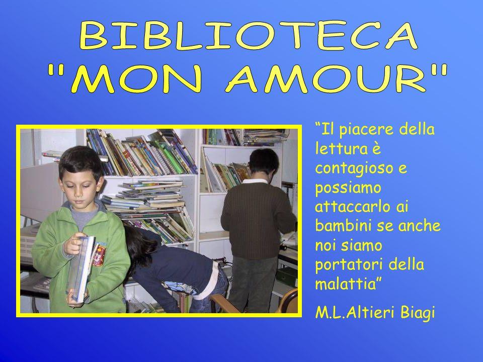 Il piacere della lettura è contagioso e possiamo attaccarlo ai bambini se anche noi siamo portatori della malattia M.L.Altieri Biagi