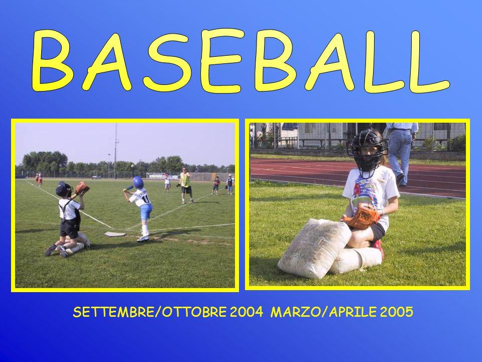 SETTEMBRE/OTTOBRE 2004 MARZO/APRILE 2005