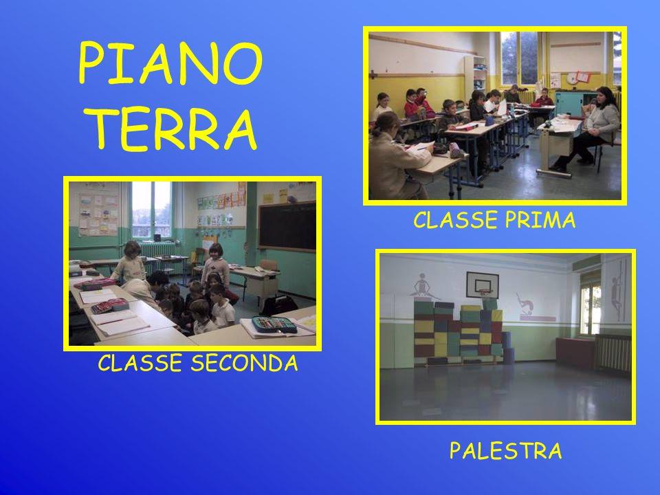 PALESTRA CLASSE SECONDA CLASSE PRIMA PIANO TERRA