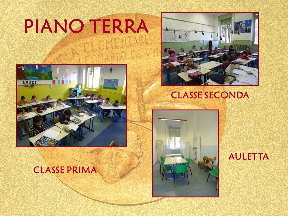 AULETTA CLASSE PRIMA CLASSE SECONDA PIANO TERRA