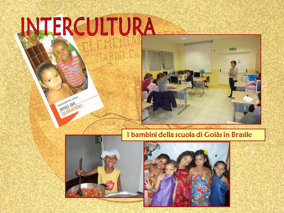 I bambini della scuola di Goiàs in Brasile