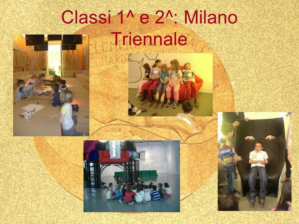 Classi 1^ e 2^: Milano Triennale