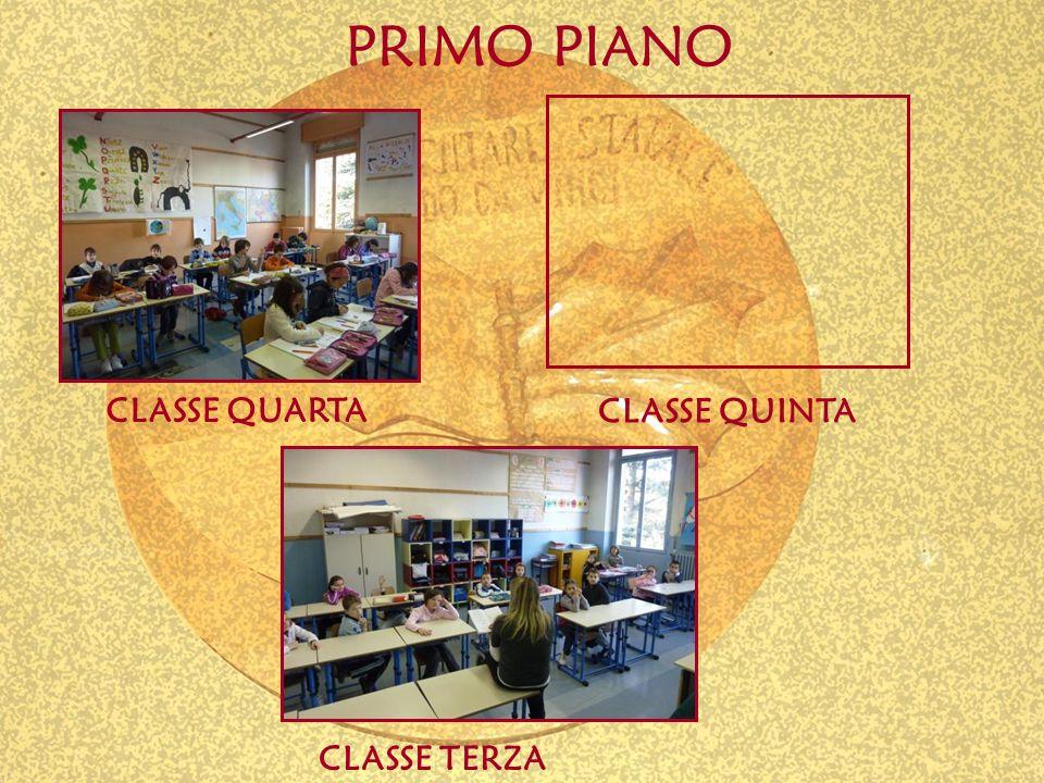 PRIMO PIANO CLASSE QUARTA CLASSE TERZA CLASSE QUINTA