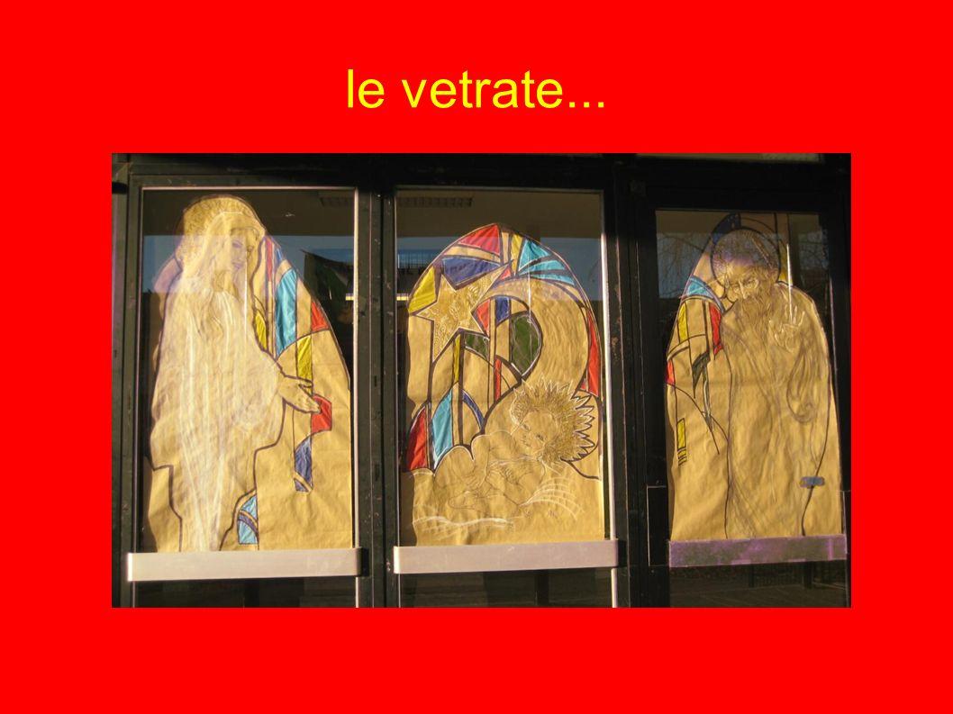 le vetrate...