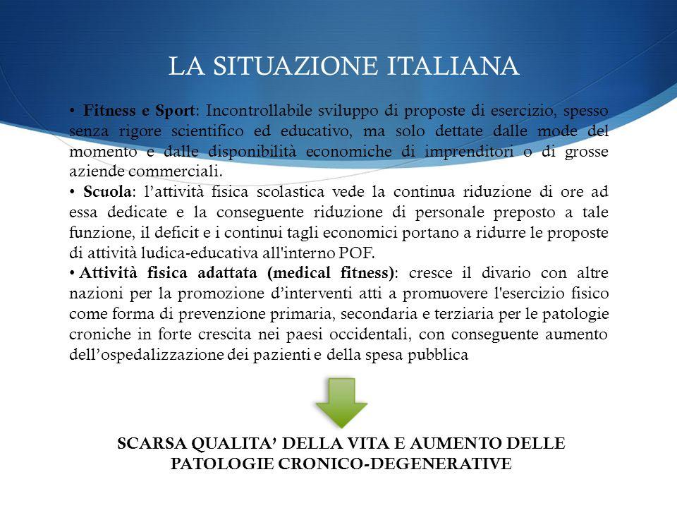 ASSOCIAZIONE ITALIANA DOTTORI IN SCIENZE MOTORIE Ci adoperiamo affinché si arrivi a definire una norma giuridica condivisa per la tutela esclusiva del dottore in scienze motorie, nei vari ruoli di competenza.