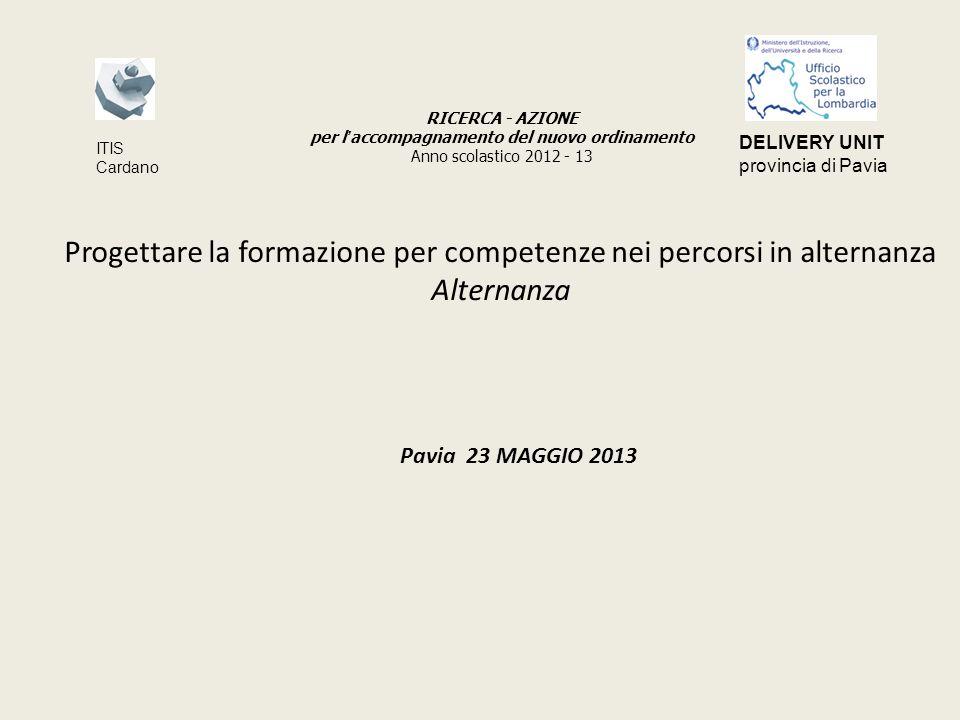 DESCRIZIONE PROGETTO ALTERNANZA Scuola I.T.S.LUIGI CASALE VIGEVANO Indirizzo studi A.F.M.