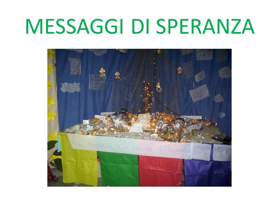 MESSAGGI DI SPERANZA